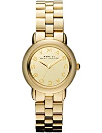 b0204111aa4f Marc Jacobs MBM3174 - Reloj para mujeres color dorado