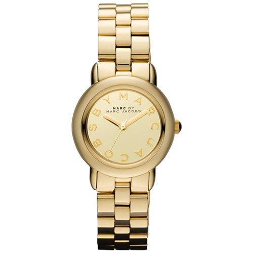 Marc Jacobs MBM3174 - Orologio da polso da donna colore oro