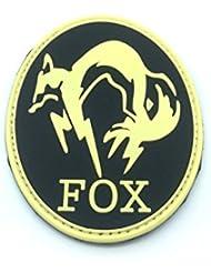 Fox Foxhound brilla en la oscuridad metal gear Solid Airsoft Velcro PVC Parche