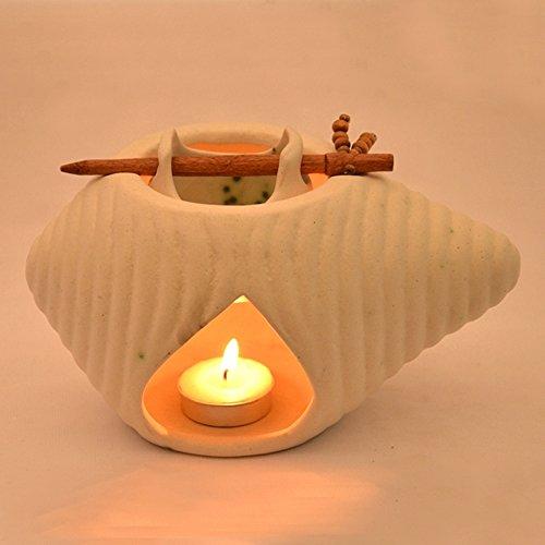 ExclusiveLane Ceramic Oil Burner White
