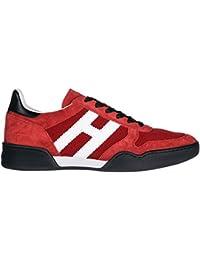 Amazon.it  Hogan - Rosso   Sneaker   Scarpe da uomo  Scarpe e borse fc55043b35b