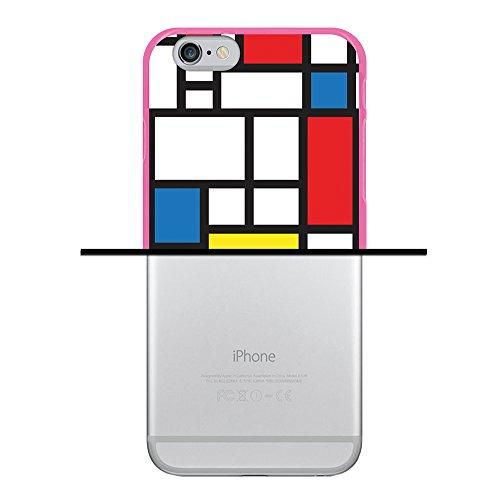 WoowCase Hülle Case für { iPhone 6 6S } Handy Cover Schutzhülle Astronaut Gay Flagge Housse Gel iPhone 6 6S Rosa D0009