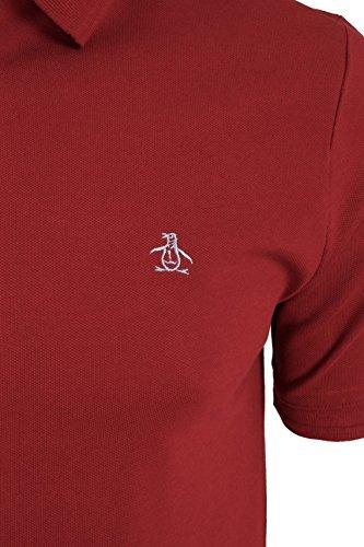 Original Penguin Herren Poloshirt Winston Rio Red
