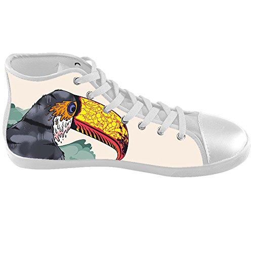 Dalliy Toucan Bird Cartoon Kids Canvas shoes Schuhe Footwear Sneakers shoes Schuhe C
