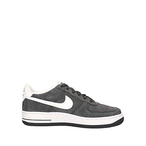 Nike, Bambino, Air Force 1 GS, Suede / Pelle, Sneakers, Grigio Grigio