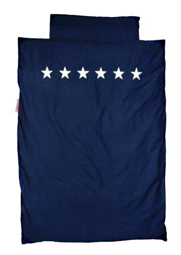 TAFTAN DS-143 Sternen Silber Bettwäsche Set für klein Bett, 100 x 135 cm, in 3 farben verfügbar -