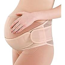 YUENA CARE Cinturón de Maternidad Faja de Embarazo Lumbar para Mujeres Embarazadas o Cinturón Pélvico Recuperación