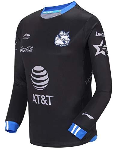 Li Ning Mexiko Puebla Club Fußball-T-Shirt für Herren, atmungsaktives Innenfutter, Sport-Top AAYN345 ATLN201 AAYN405 - - X-Groß -