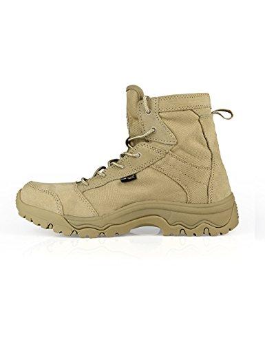 FREE SOLDIER D'extérieur sans hommes Bottes tactique tempête Ultra Léger Respirant Durable Chaussure Sable