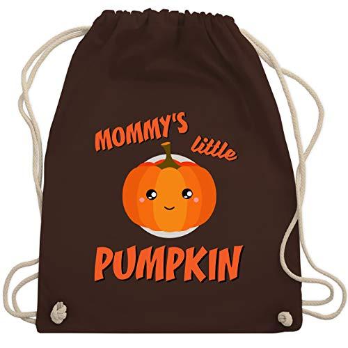 Anlässe Kinder - Mommys little Pumpkin Halloween - Unisize - Braun - WM110 - Turnbeutel & Gym Bag (Gruppe Ideen Kid, Halloween-kostüm)