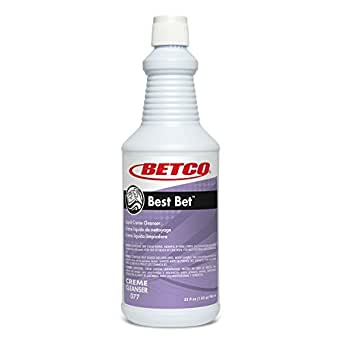 Scale & Rust Remover - BEST BET - Liquid abrasive crème cleanser 946ML