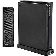 OSTENT Doble ventilador de enfriamiento Enfriador de soporte Concentrador USB doble para Xbox One X Console