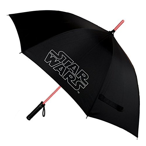 Paraguas con Luz StarWars negro