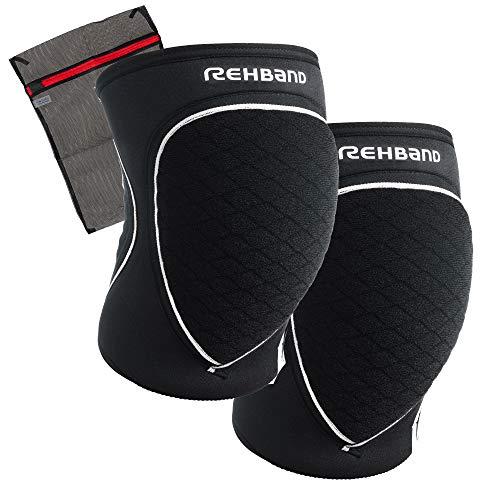 Ziatec Rehband [1 Paar, 1 Stück] PRN Knieschützer, Knieschoner Wäschenetz, Größe:XL - 1 Paar, Farbe:schwarz