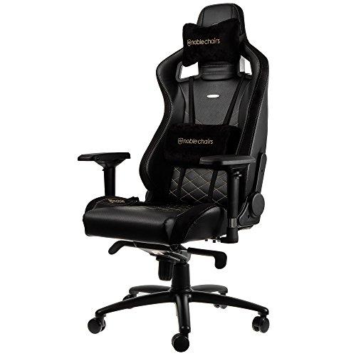 noblechairs EPIC Gaming Stuhl – schwarz/gold - 6