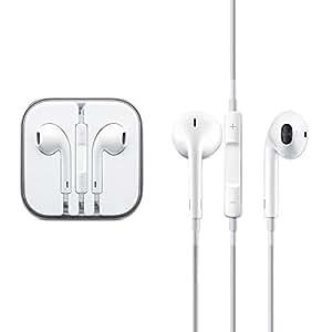 Auricolari con microfono e telecomando per iPhone, iPod, iPad - Custodia rigida in plastica