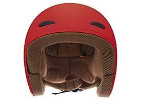Fastrack HA01RD04 Open Face Helmet (Men's, Red Matte, L)