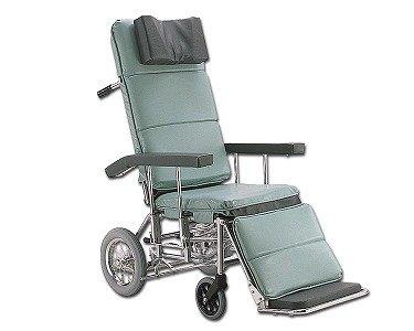 フルリクライニング車椅子 RR70NB 介助ブレーキ付/No.43