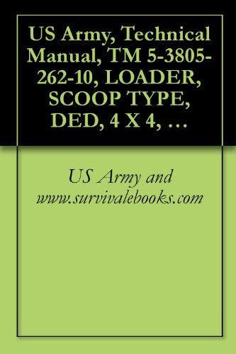 US Army, Technical Manual, TM 5-3805-262-10, LOADER, SCOOP TYPE, DED, 4 X 4, ARTICULAT FRAME STEER, 2-1/2 CUBIC YARD (J.I. CASE MODEL MW24C) (NSN 3805-01-150-4814) (English Edition) -
