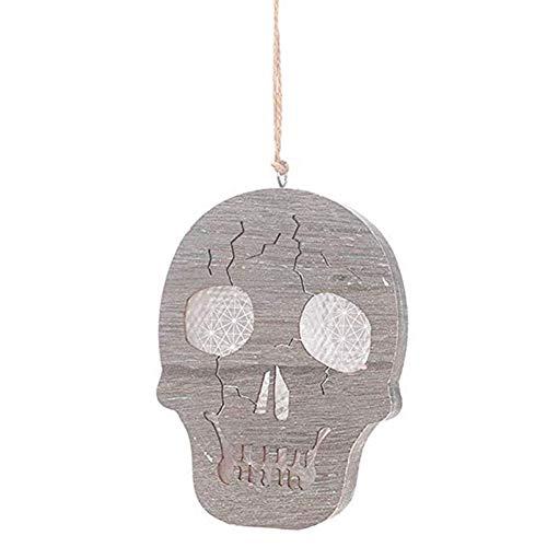 Euopat Halloween-Kürbis-Lichter und Schädel-Lampe, Kürbis-Licht 3D für Halloween-Weihnachtsfest-Partei-Dekoration kleiden oben Versorgungsmaterialien an, die Verzierungen Schädel-hängende Dekoration