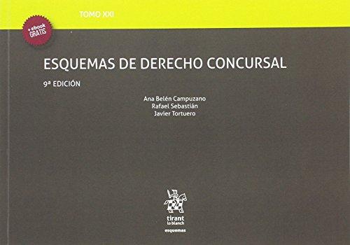 Tomo XXI Esquemas de Derecho Concursal 9ª Edición 2016