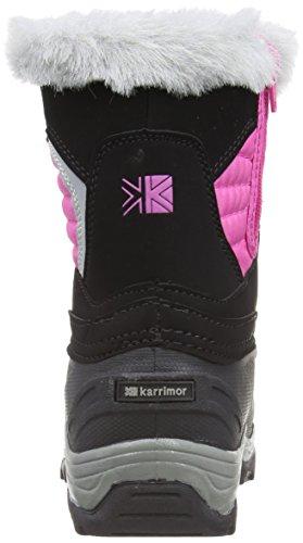 Karrimor Blitz Weathertite Unisex-Kinder Stiefel & Stiefeletten Schwarz - Noir (Black/Pewter)