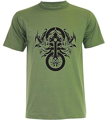PALLAS - T-shirt - Homme - vert - Large