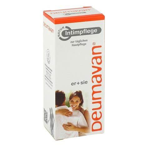 Deumavan Natur Schutzsalbe, Spar-Set 2x50ml, zum täglichen Intimschutz für sie und ihn auf neuem Niveau. Hormonfrei.