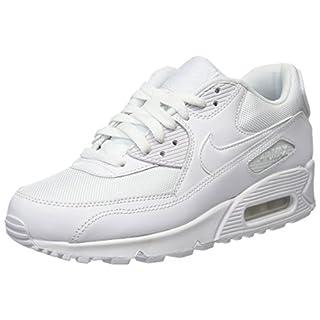 Nike Herren Men's Air Max '90 Essential Shoe Low-Top, Weiß White, 45.5 EU