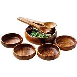 Premier Housewares Service à salade 7 pièces