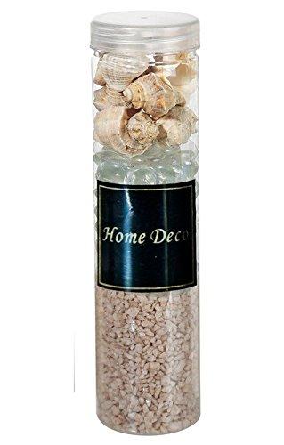 Out of the blue Kit de décoration avec décorations Sable en Verre et Coquillages Couleurs :