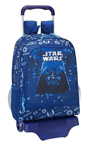 r Startrooper Yoda Luke Skywalker (STK) - Kinder Jungen Mädchen Trolley Rucksack, blau, 43 x 33 x 15 cm ()