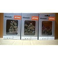2 STIHL Sägeketten 3//8P-44E-1,3 Picco Micro 3 für Stihl  180  30cm 3636 000 0044