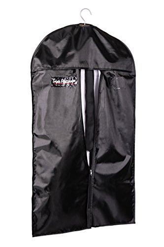 Leder-flug-jacke (Kleidersack Premium Pro - Erstklassiger Schutz für Ihre Anzüge und Kleider aus atmungsaktivem material by TRIPLE PLATINUM)