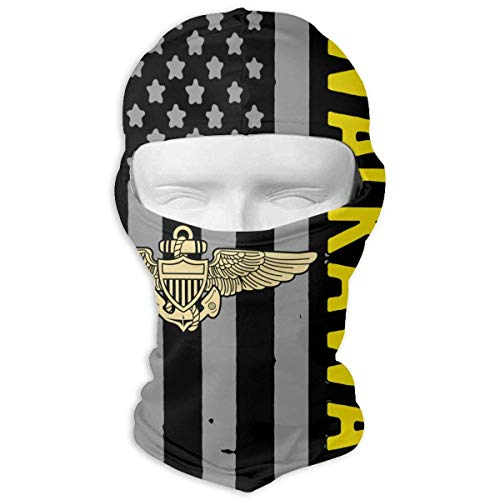 Jxrodekz Naval Aviator Pilot Wings Awesome #walkaway Movement Vollgesichtsmaske Windproof Diving Hood