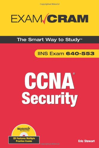 CCNA Security Exam Cram (Exam IINS 640-553) por Eric Stewart