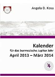 ebook Kalender für das burmesische Jupiter Jahr April 2013 - März 2014