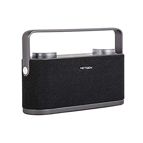 NETGEN Morgen Bluetooth Speaker with NFC Earth-Shaking Powerful Sound with  Rich Bass 360-Degree Surround Sound Effect Built-in Mic iPhone and Android