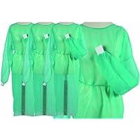 Fieltro rahmenlos OP desechables rahmenlos una vez que el bata colour verde puños 50 unidades tamaño