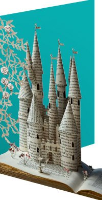 Biglietti di auguri-Fairytale Princess-lasercut biglietti, di qualità superiore di Roger la borde - Greeting Laser Cards