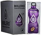 Bolero Bebida Instantánea sin Azúcar, Sabor Maracuyá - Paquete de 24 x 9 gr - Total: 216 gr