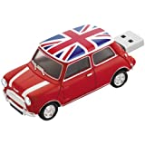 Platinum Mini Cooper 177537 Clé USB 4 Go Rouge