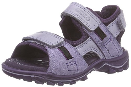 Ecco ECCO URBAN SAFARI KI, Mädchen Knöchelriemchen Sandalen, Violett (CROCUS/LIGHT PURPLE/NIGHT SHADE59783), 28 EU (10 Kinder UK)