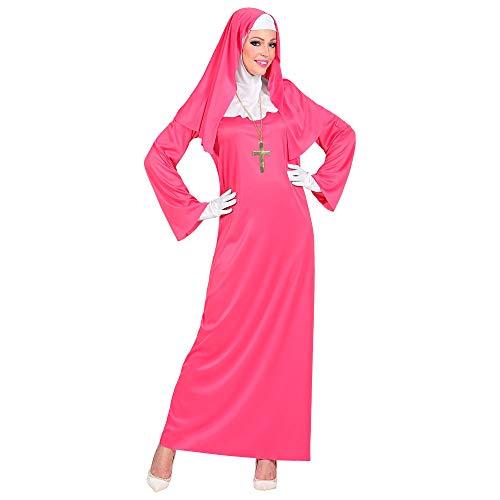 WIDMANN 09954 - Disfraz para mujer, color rosa