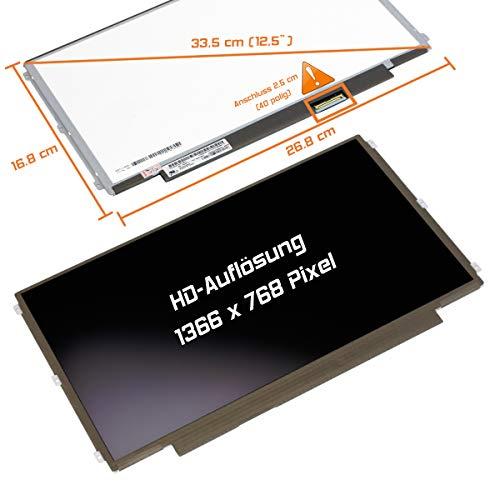 "Laptiptop 12,5"" LED Display Screen matt Ersatz für Lenovo ThinkPad X230 2320-JAU 1366x768 Bildschirm Panel"
