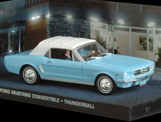 Ford Mustang Convertible (1964) Diecast Model Car from James Bond