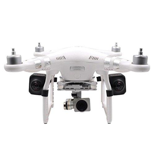 HKFV Für DJI Phantom 3 Nacht Fliegen LED Licht Fester Rahmen Halter Halterung FPV Drone Teil Genie 3 Standard Edition Umfassendes Angebot an universellen Seitenmontage Kit 3D-Druck