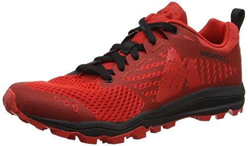 Destrezza Rosso Rosso nero Merrell Trail Da Scarpe Uomo aqxOawZXd