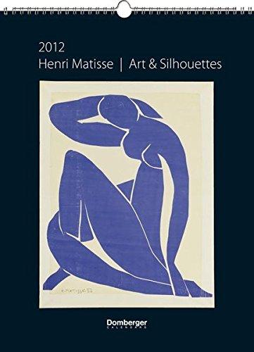 2012 Matisse Art & Silhouettes Poster Calendar