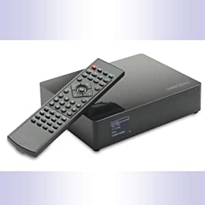 SO WORLD TV 1To - Disque Dur Externe Multimedia Enregistreur 1To (1000Go)- réseau RJ45 - USB - Full HD 1080p - Hôte USB